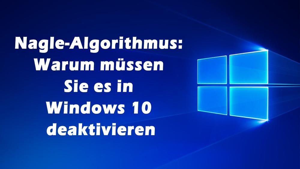 zumüllen von windows 10 unterbinden