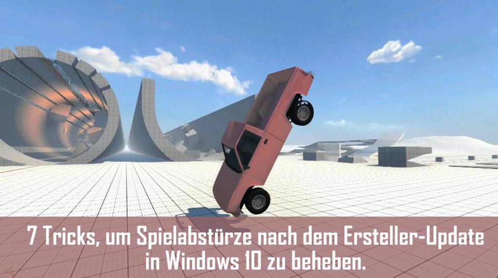 spiele modus windows 10
